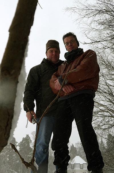 Mark and fRa at the lake